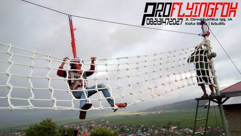 0821 3147 2027, Flying Fox Outbound Jambi, Flying Fox Outbound Bali, Flyingfox Wisata Bukit Cinta Jambi (4)