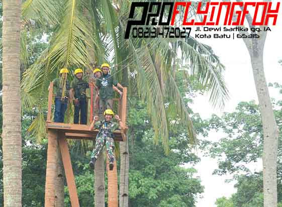 082131472027 , Flying Fox Outbound Jawa Timur , Flying Fox Outbound Jepara , Flyingfox di Kelapa Park Jepara (1)