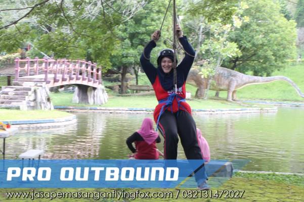 Langkah - Langkah Untuk Menikmati Wahana Flyingfox, Flying Fox Outbound Bandung - 082131472027 (2)