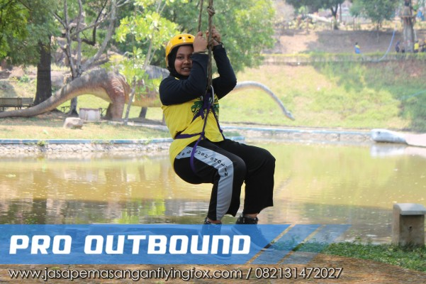 Langkah - Langkah Untuk Menikmati Wahana Flyingfox, Flying Fox Outbound Bandung - 082131472027 (4)