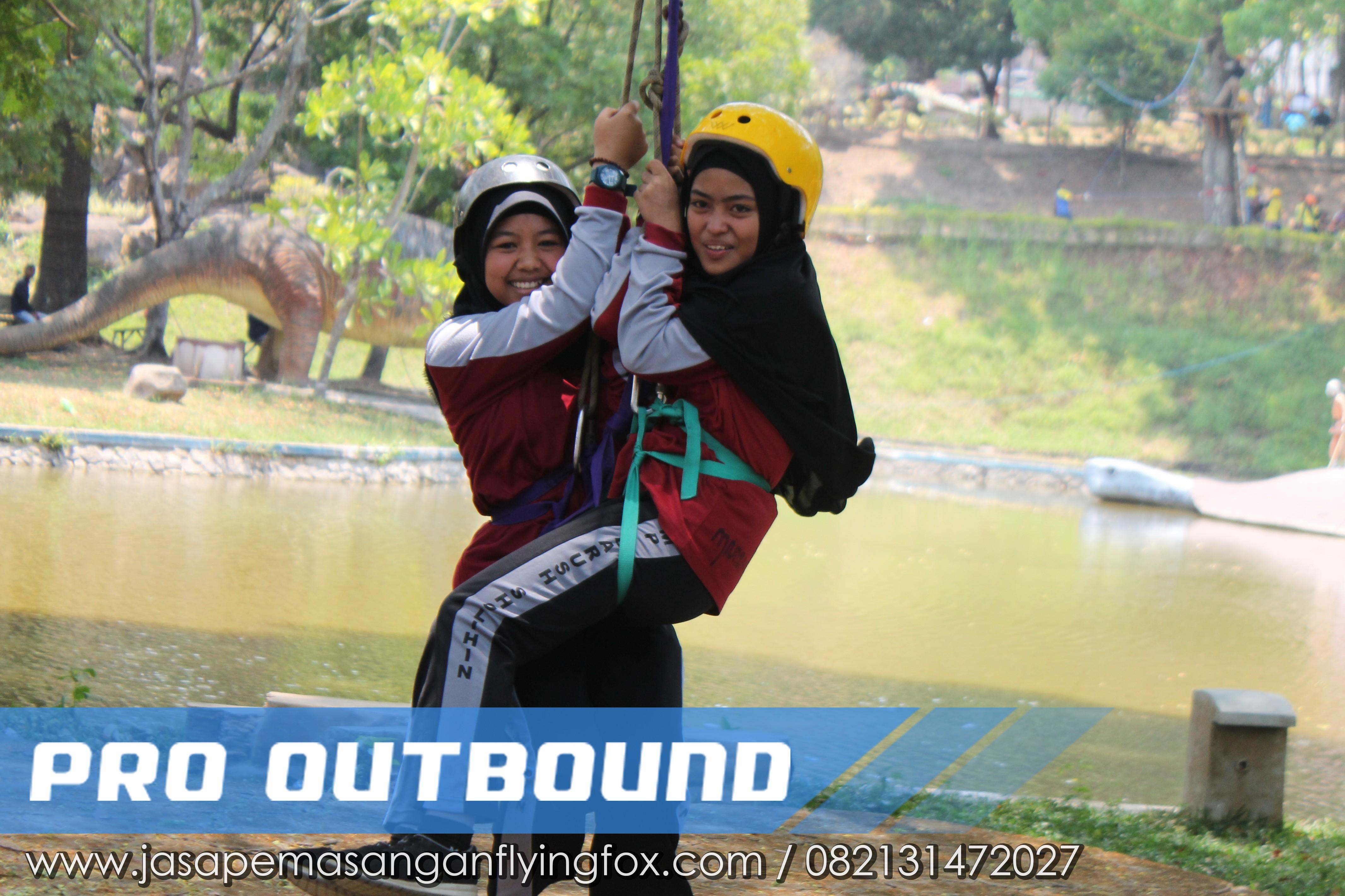Melawan Rasa Takut Melalui Kegiatan Highrope - Flyingfox Untuk Anak Kalimantan, 082131472027 (3)