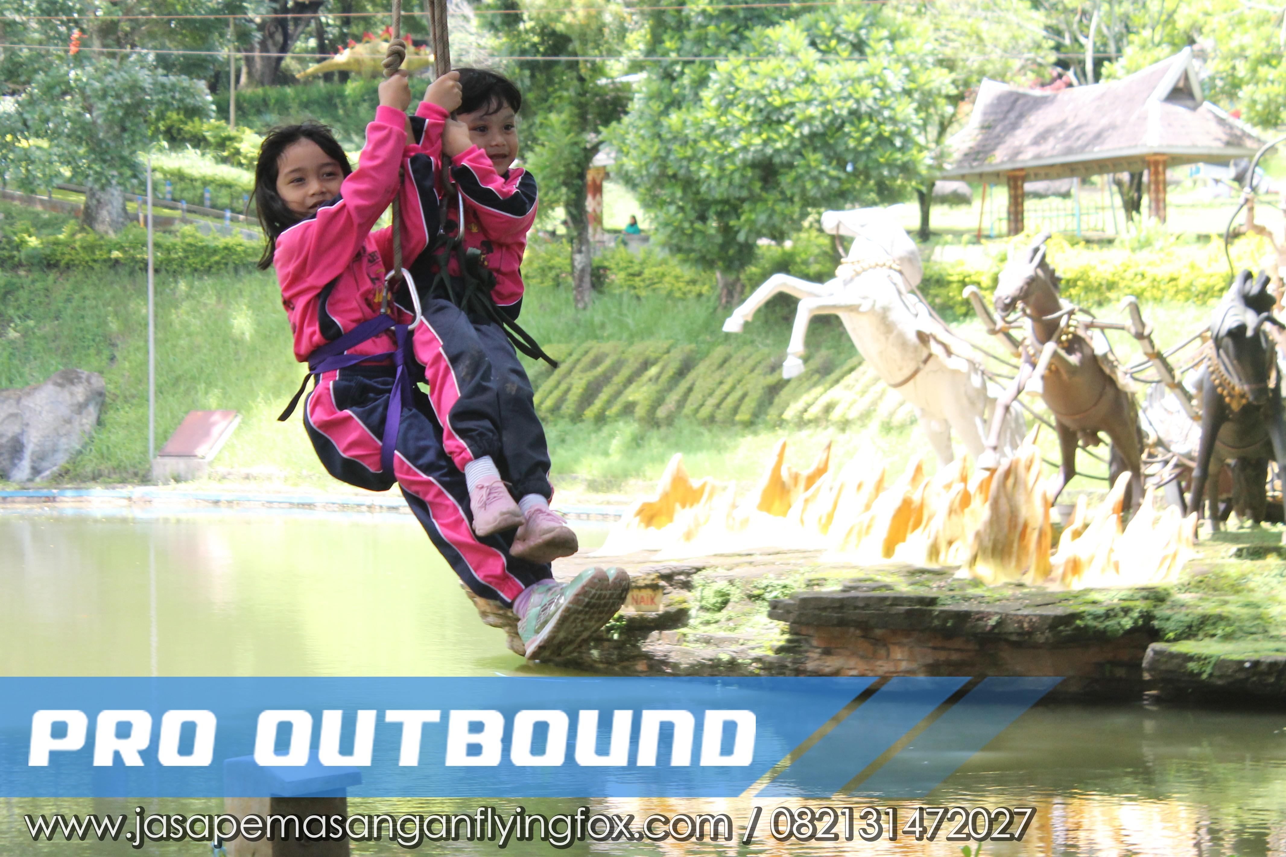 Melawan Rasa Takut Melalui Kegiatan Highrope - Flyingfox Untuk Anak Kalimantan, 082131472027 (5)