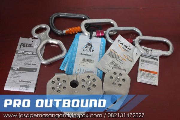 Spesifikasi Peralatan Flyingfox Dengan panjan 100 Meter, Alat Untuk Flying Fox Pemalang - 082131472027 (3)