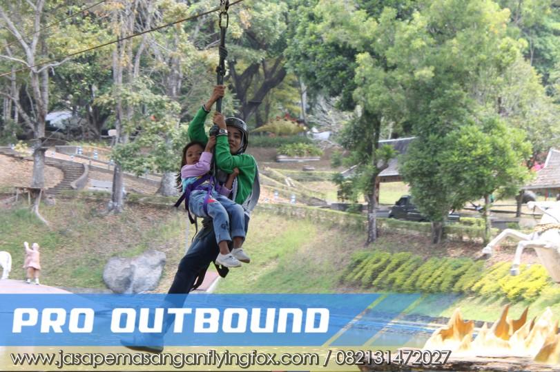 Menikmati Wahana Outbound Flyingfox Dengan Nyaman, Cara Pemasangan Flying Fox - 082131472027 (3)