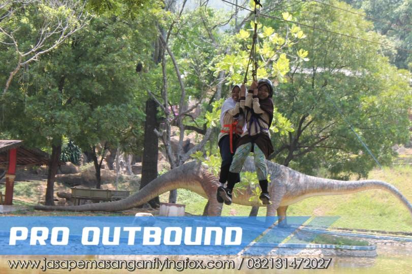 Wahana Outbound Untuk Anak - Anak, Flyingfox Untuk Anak Bandung - 082131472027 (1)