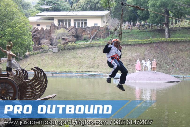 Wahana yang Ada di Lokasi Wisata Outbound, Flying Fox Outbound Bekasi - 082131472027 (1)
