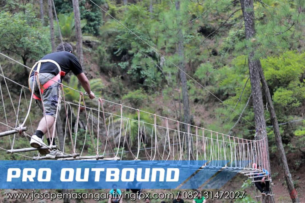 Savety Rules Untuk Menaiki Burma Bridge, Jasa Pembuatan Flying Fox Bandung - 082131472027 (1)