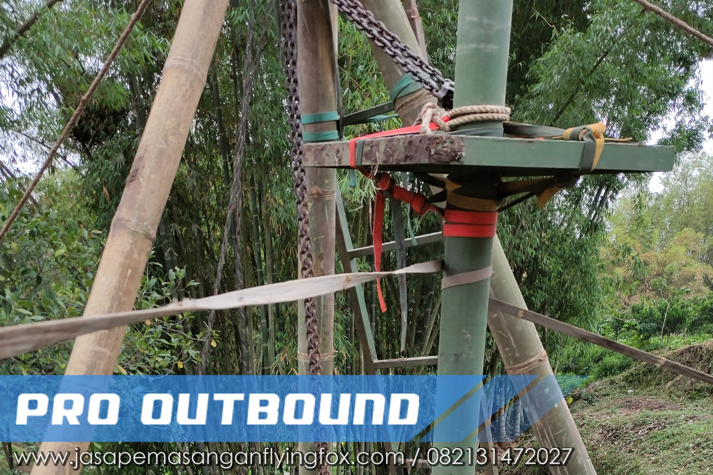 Pembangunan Tower Untuk Wahana Flyingfox, Jasa Pembuatan FlyingFox Jogja - 082131472027 (1)
