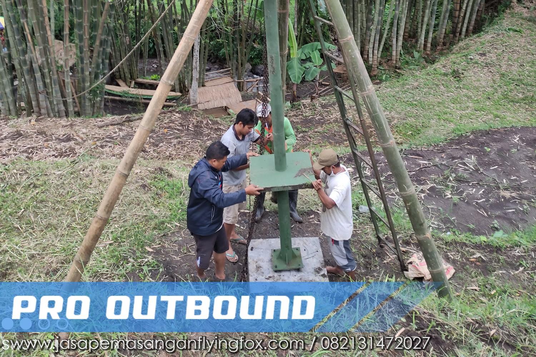 Pembangunan Tower Untuk Wahana Flyingfox, Jasa Pembuatan FlyingFox Jogja - 082131472027 (5)
