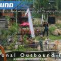 Pemasangan Wahana Flyingfox di Lokasi Wisata Pendopo Ciherang Bogor