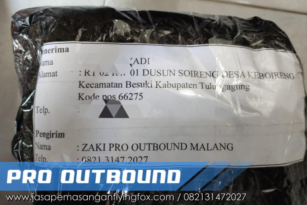 Pengiriman Alat Flyingfox ke Tulungagung, Alat Untuk Flyingfox - 082131472027 (1)